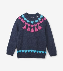 Pretty Winter Knit Sweater 8
