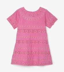 Boho Pink Dress 4