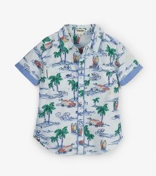 Button Down Tropics Shirt 8