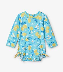 Baby Rash Guard Lemons 9-12m