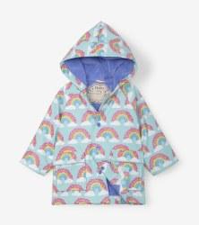 Baby Rain Coat Rainbows 12-18m
