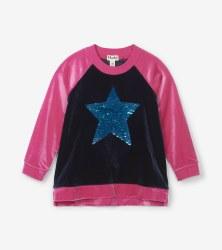 Flip Sequin Star Pullover 3