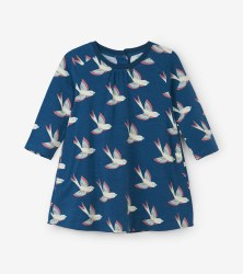 Swing Dress Birdies 12-18m