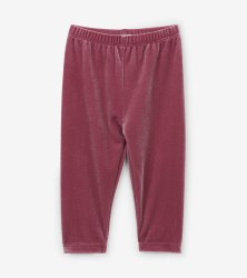 Leggings Pink Velour 12-18m