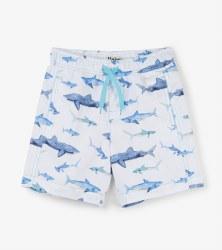 Swim Shorts Sharks 4T