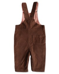 Cord Overalls Brown 3-6m