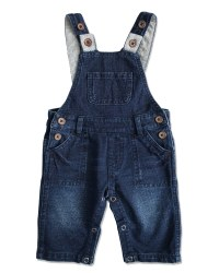 Jersey Overalls Blue 3-6m