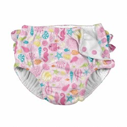 Ruffle Swim Pink Sealife 6m