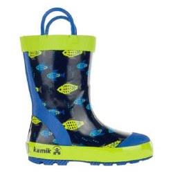 Rain Boots Fishride Navy 7