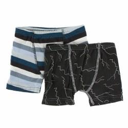 Boxers Meteorolgy Stripe 2T/3T