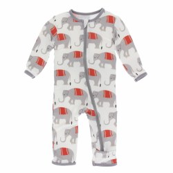 Coverall Natural Elephant 0-3m