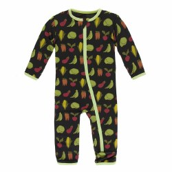 Coverall Zebra Veggies 9-12m