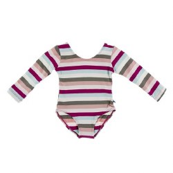 Leotard Geology Stripe 4T