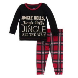 L/S PJ Jingle Bells 2T