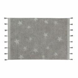 Hippy Stars Grey Rug