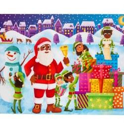 Children's Advent Sticker Cale