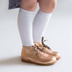 Knee High White 0-6m
