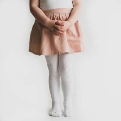 Tights White 1-2Y