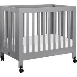 Origami Mini Crib Grey