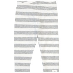 Grey Stripe Knit Pant 3T