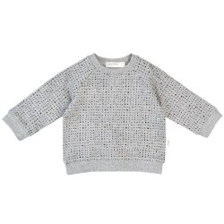 Baby Knit Sweatshirt Grey 12m