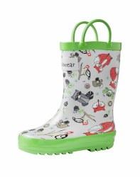 Rain Boots Critters 8T