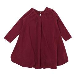 Bubble Dress Cranberry 9-12m