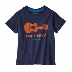 Live Simply Guitar T-Shirt 6m