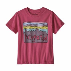 Fitz Roy T-Shirt Reef Pink 4T