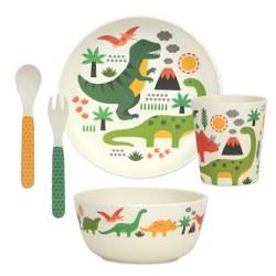 Dinosaurs Bamboo Dinnerware