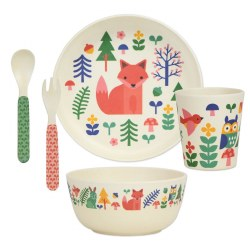 Forest Bamboo Dinnerware