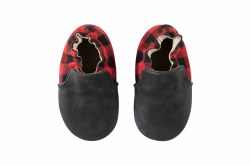 Hunter Black/Red 6-12m