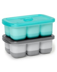 Easy Fill Freezer Trays Turquoise
