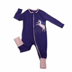 Zip Romper Skipper Blue 0-3m