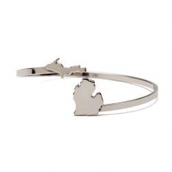 Love Michigan Bracelet Stainle