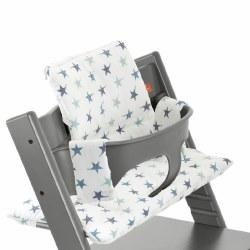Tripp Trapp Cushion Aqua Stars