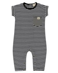 Roll Sleeve Playsuit 0-3m