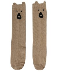 Brown Bear Knee Highs 6-12m