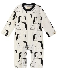 Penguin Family Playsuit 3-6m
