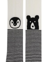Stripe/Knee Face Tights 1-3y