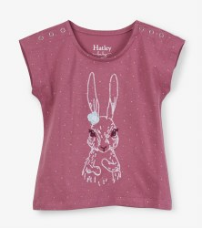 Pretty Bunny Baby Tee 12-18m