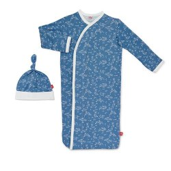 Gown Set Blue Sky Bunny NB