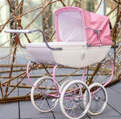 Princess Doll Pram