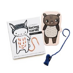 Lacing Cards Baby Animals