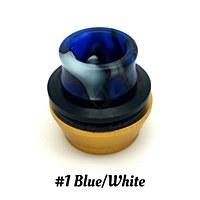 24mm Chuff Cap 1 Blue White