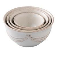 Berry & Thread Whitewas Nesting Prep Bowls
