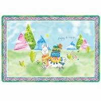 Baby Cie Enjoy The Journey Anti-Slip Placemat