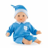 Corolle Bebe Calin Blue Baby Doll