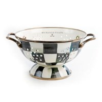 Courtly Check Enamel Colander Small