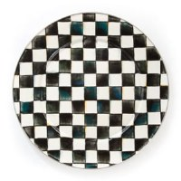 Courtly Check Enamel Serving Platter 16